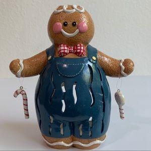 Gingerbread Man Candle Tea Light Holder